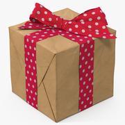 선물 상자 용지 4 3d model