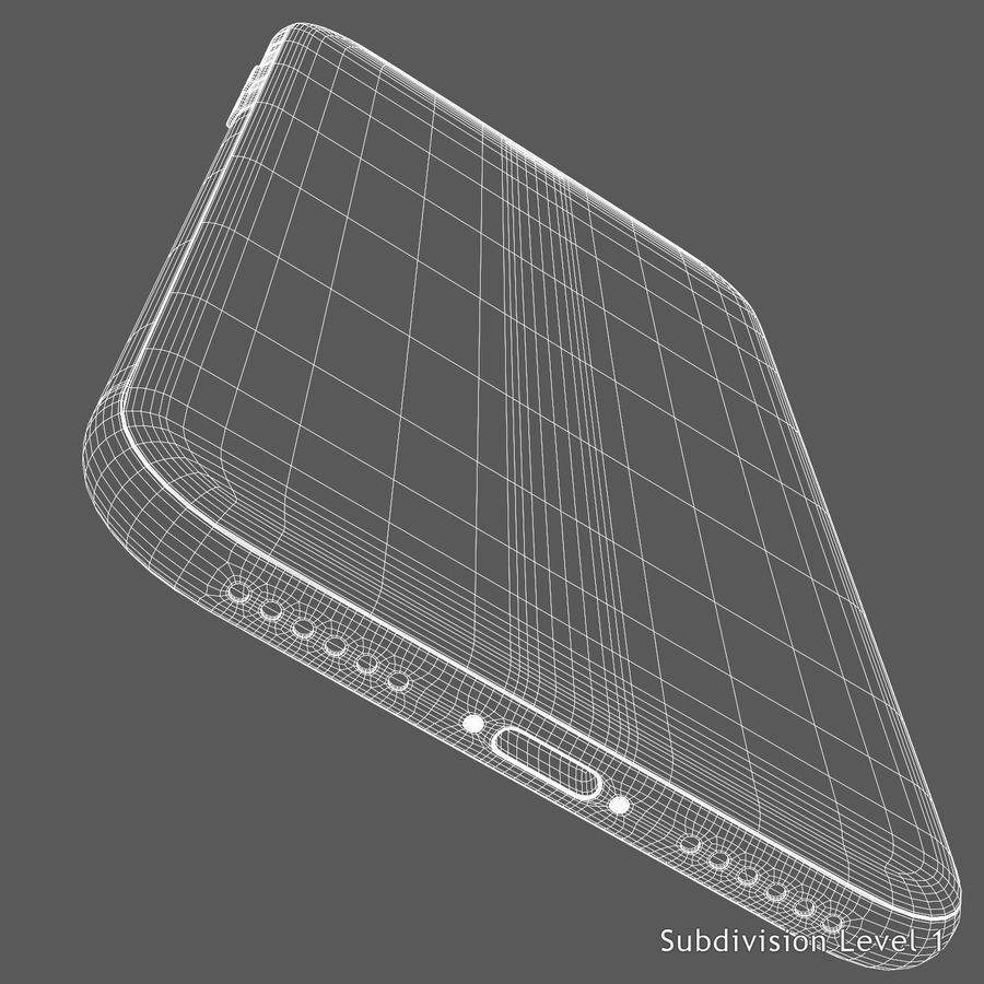 iPhone X royalty-free 3d model - Preview no. 13