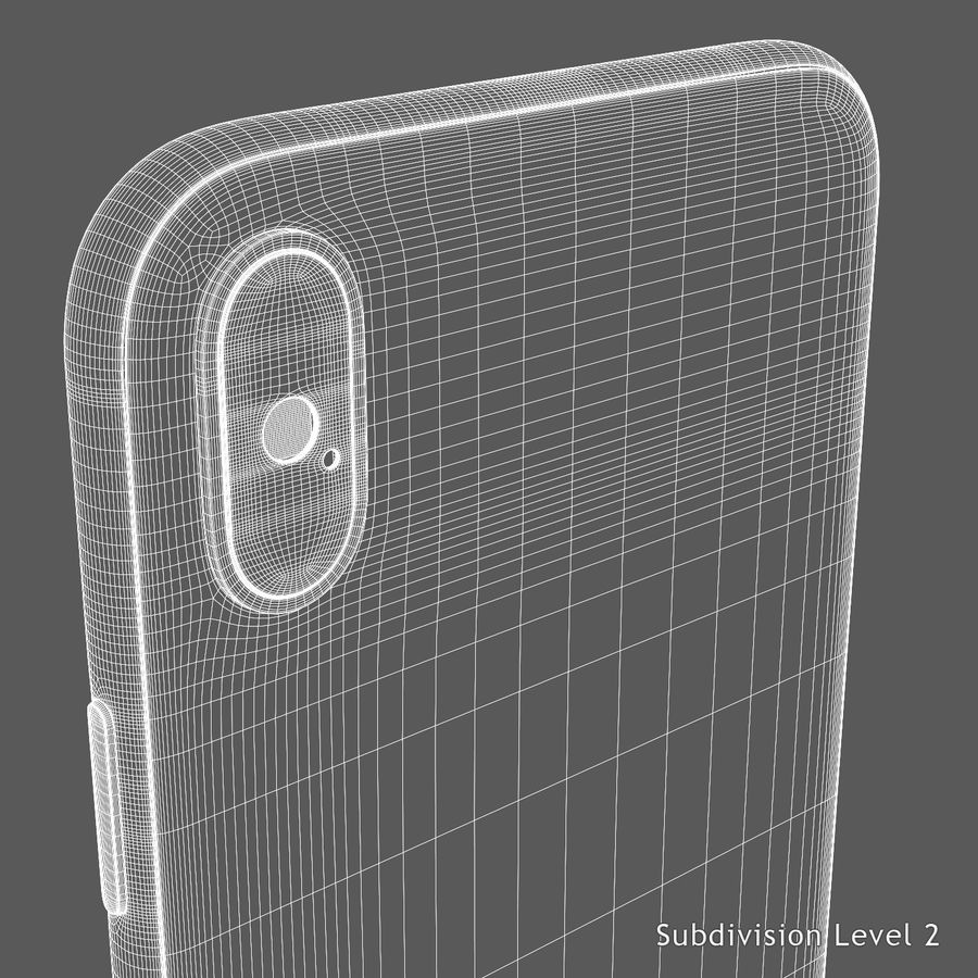 iPhone X royalty-free 3d model - Preview no. 20