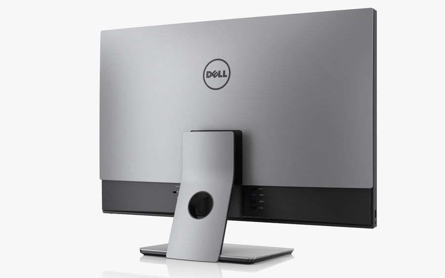 Dell Inspiron 27 7000 All-in-One royalty-free 3d model - Preview no. 5
