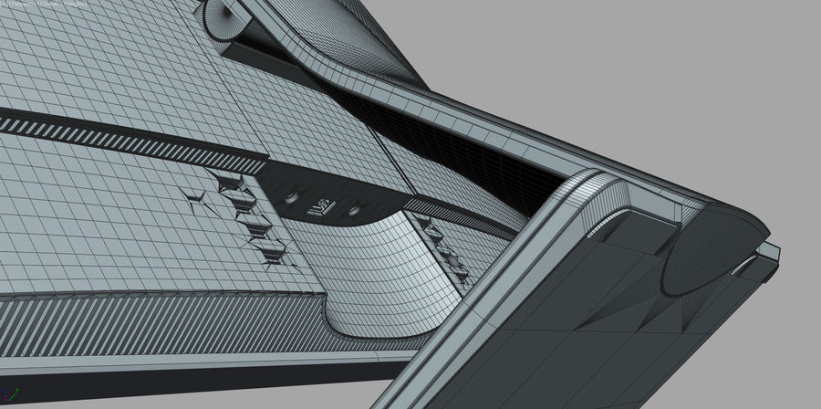 Dell Inspiron 27 7000 All-in-One royalty-free 3d model - Preview no. 17
