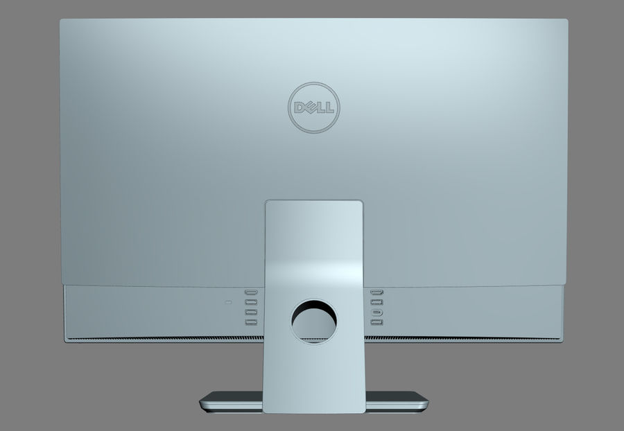 Dell Inspiron 27 7000 All-in-One royalty-free 3d model - Preview no. 12