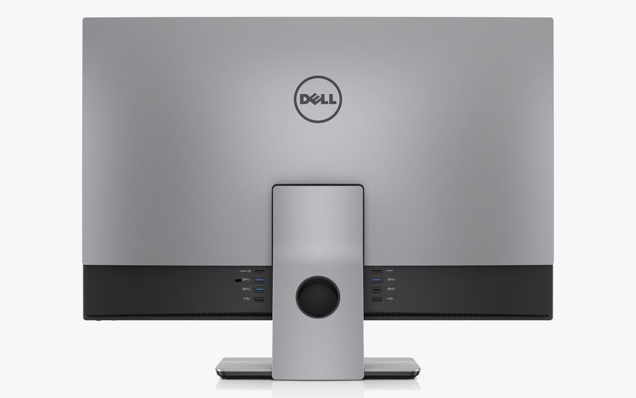 Dell Inspiron 27 7000 All-in-One royalty-free 3d model - Preview no. 3