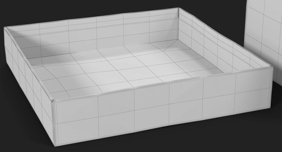 Geschenkbox Rot royalty-free 3d model - Preview no. 33