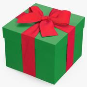 Geschenkdoos Groen 3d model