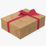 Papier na pudełko 3d model