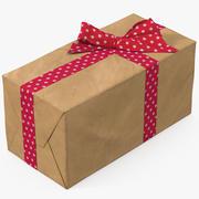 선물 상자 용지 3 3d model