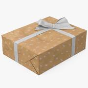 선물 상자 용지 5 3d model
