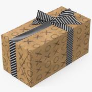 Papier do pudełka 7 3d model