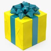 선물 상자 4 3d model