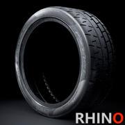 Pirelli Trofeo R with 3D sidewall Rhino version 3d model