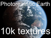 Photorealistic Planet Earth - 10k Maps 3d model