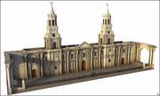 Кафедральный собор Арекипа, Перу. 3d model