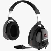 Headset Microphone 3d model