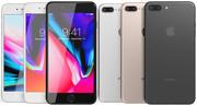 Apple iPhone 8 Plus All Colors 3d model