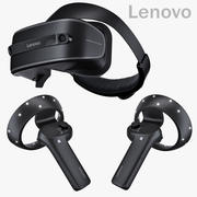 Windows Mixed Reality Lenovo Explorer Set 3d model