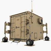 UAV Container 10Ft 3d model