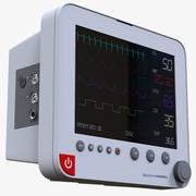 Sistema di monitoraggio del paziente 3d model