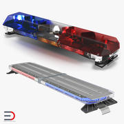 Collezione di modelli 3D Lightbar Light 3d model