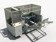 Automatic unpacking machine 3d model