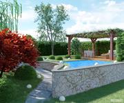 Ogród 3d model