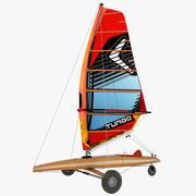 Jacht piaskowy 3d model