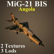 MIG21BIS ANG 3d model