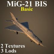 MIG21BIS Basic 3d model