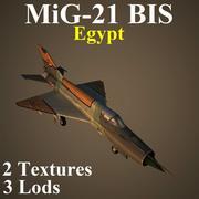 MIG21BIS EGP 3d model