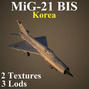 MIG21BIS KNDR 3d model