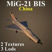 MIG21BIS KNR 3d model