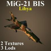 MIG21BIS LIV 3d model