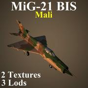MIG21BIS MAL 3d model
