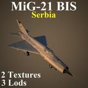 MIG21BIS SER 3d model
