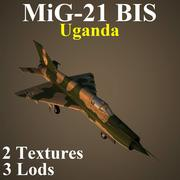 MIG21BIS UGA 3d model