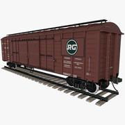 Vagão de trem 3d model