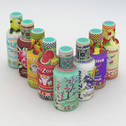 飲料ボトルアリゾナコレクション 3d model