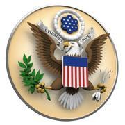Grande sigillo degli Stati Uniti 3d model