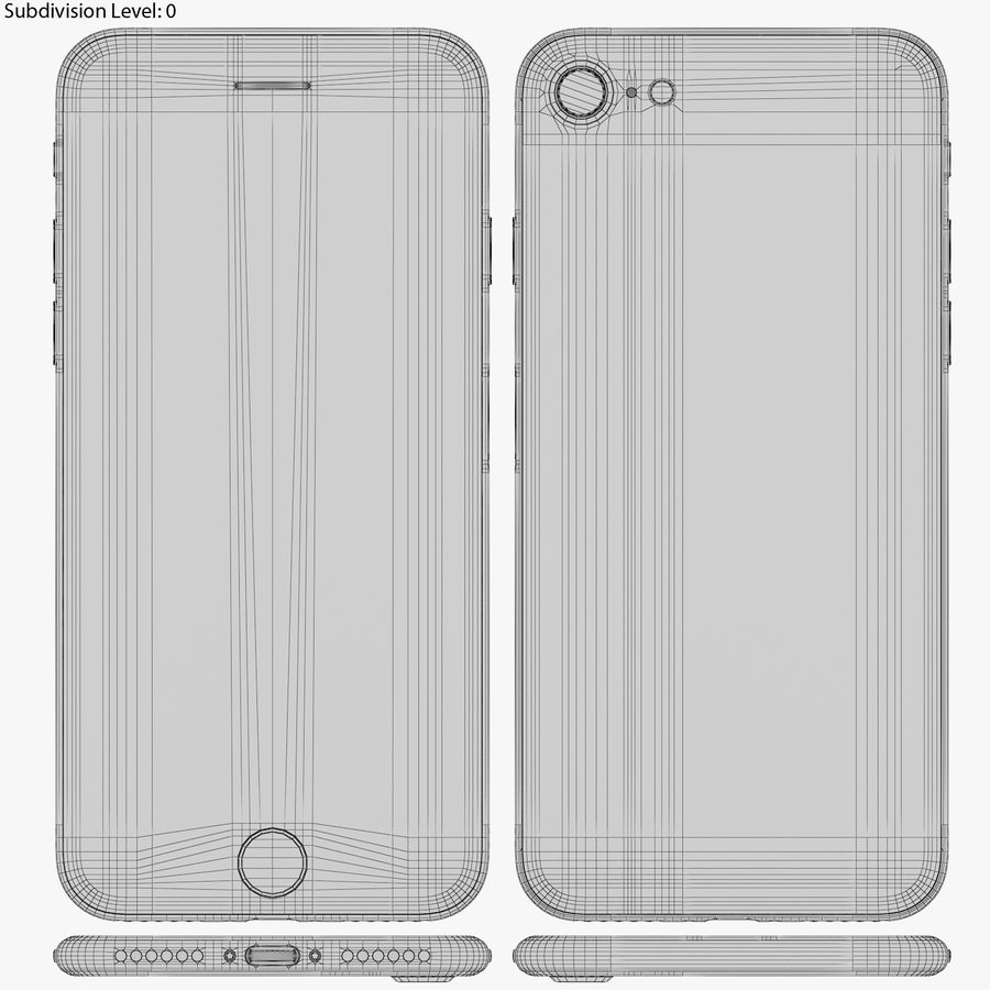 Apple iPhone 8&iPhone Xコレクション royalty-free 3d model - Preview no. 50