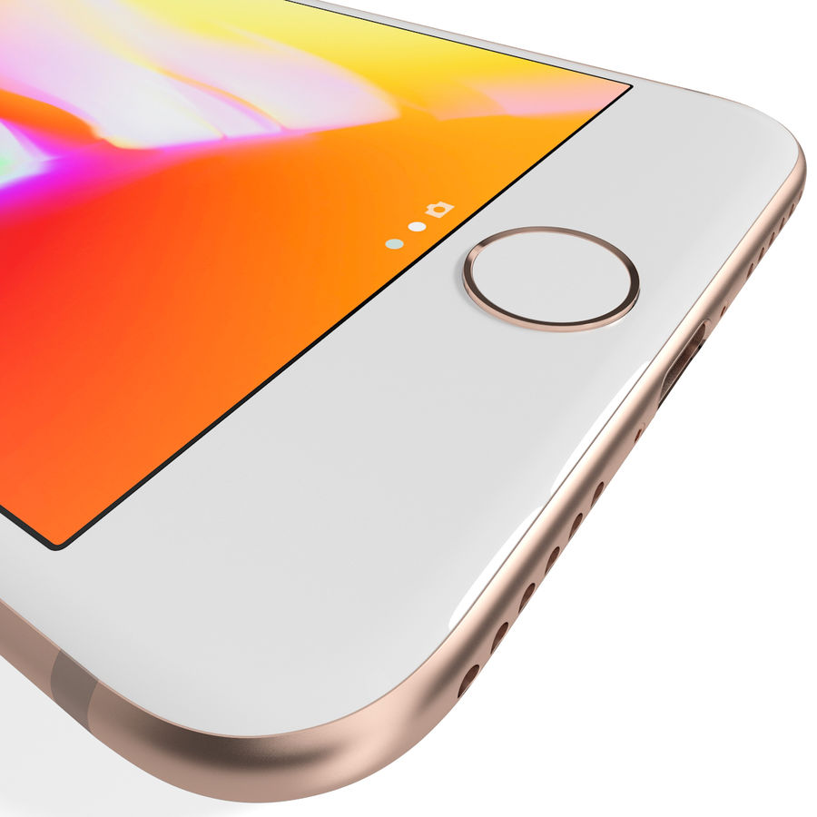 Apple iPhone 8&iPhone Xコレクション royalty-free 3d model - Preview no. 33