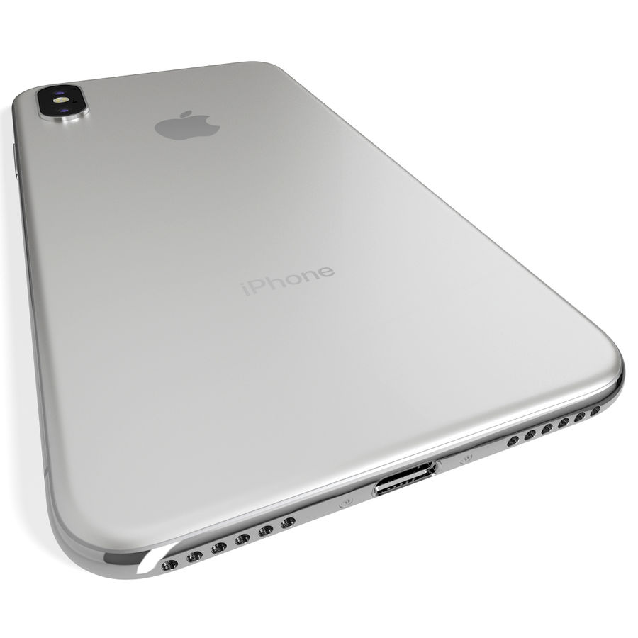 Apple iPhone 8&iPhone Xコレクション royalty-free 3d model - Preview no. 87