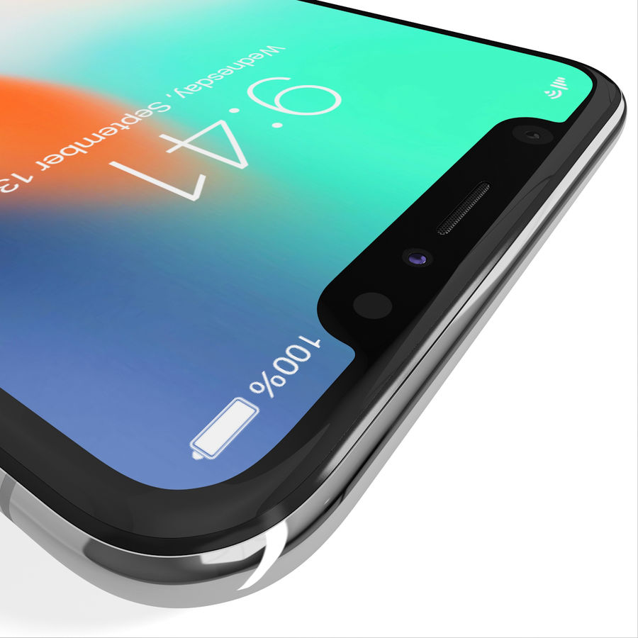Apple iPhone 8&iPhone Xコレクション royalty-free 3d model - Preview no. 79