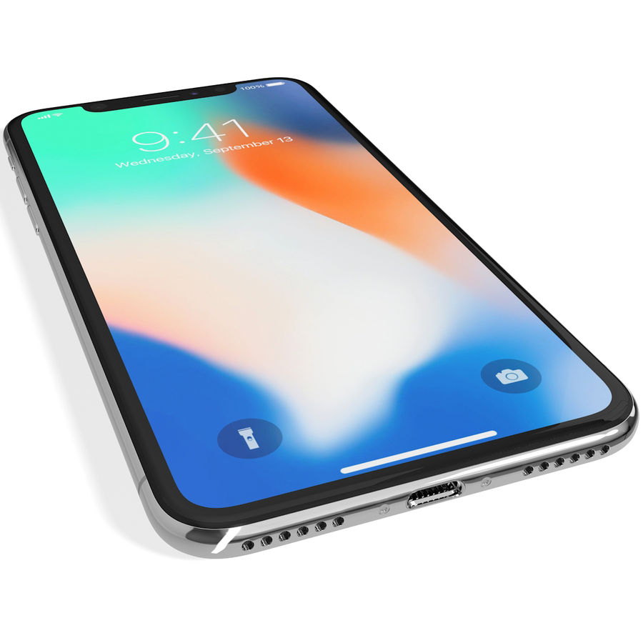 Apple iPhone 8&iPhone Xコレクション royalty-free 3d model - Preview no. 91