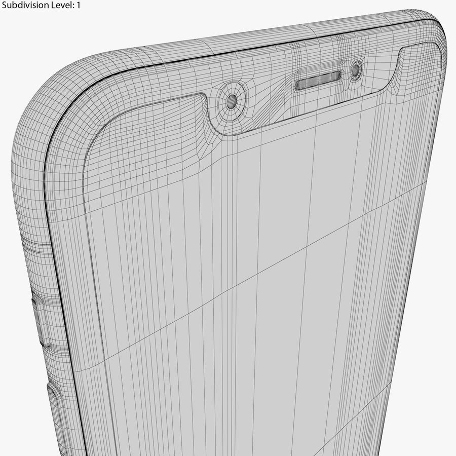 Apple iPhone 8&iPhone Xコレクション royalty-free 3d model - Preview no. 99