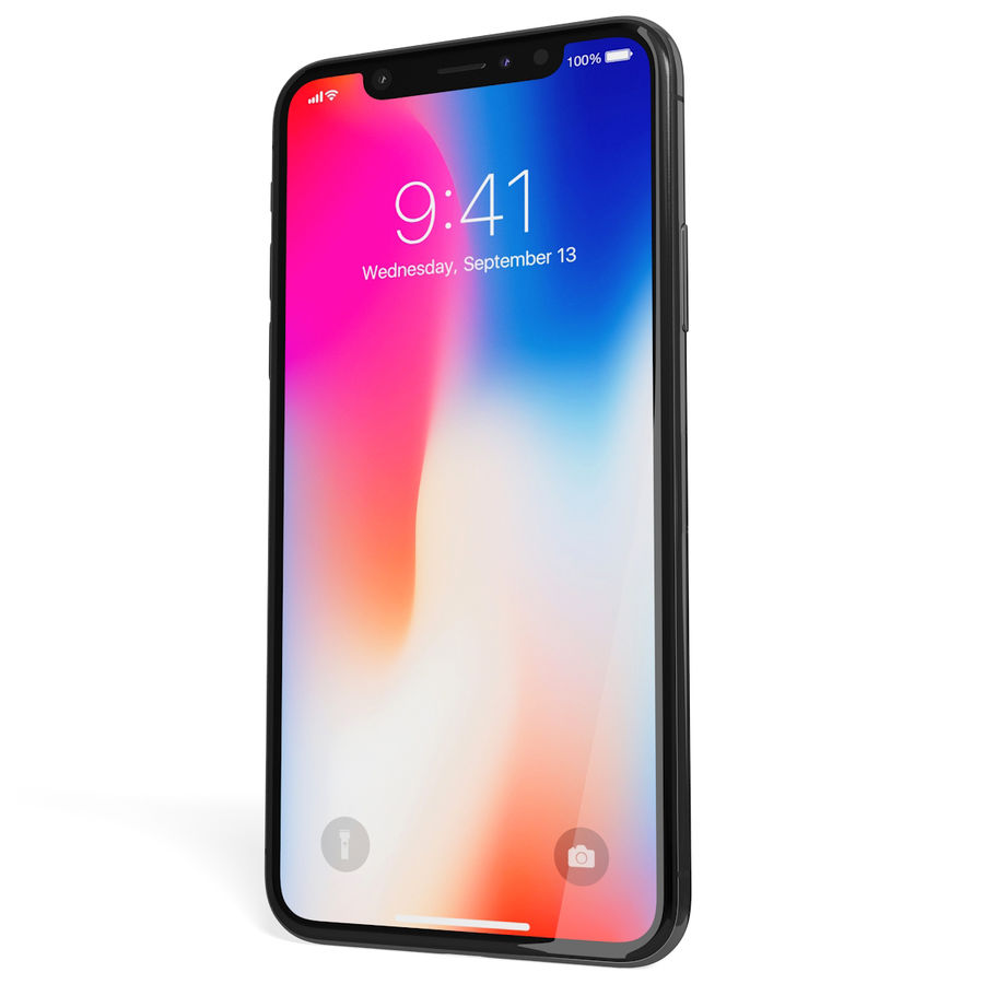Apple iPhone 8&iPhone Xコレクション royalty-free 3d model - Preview no. 64