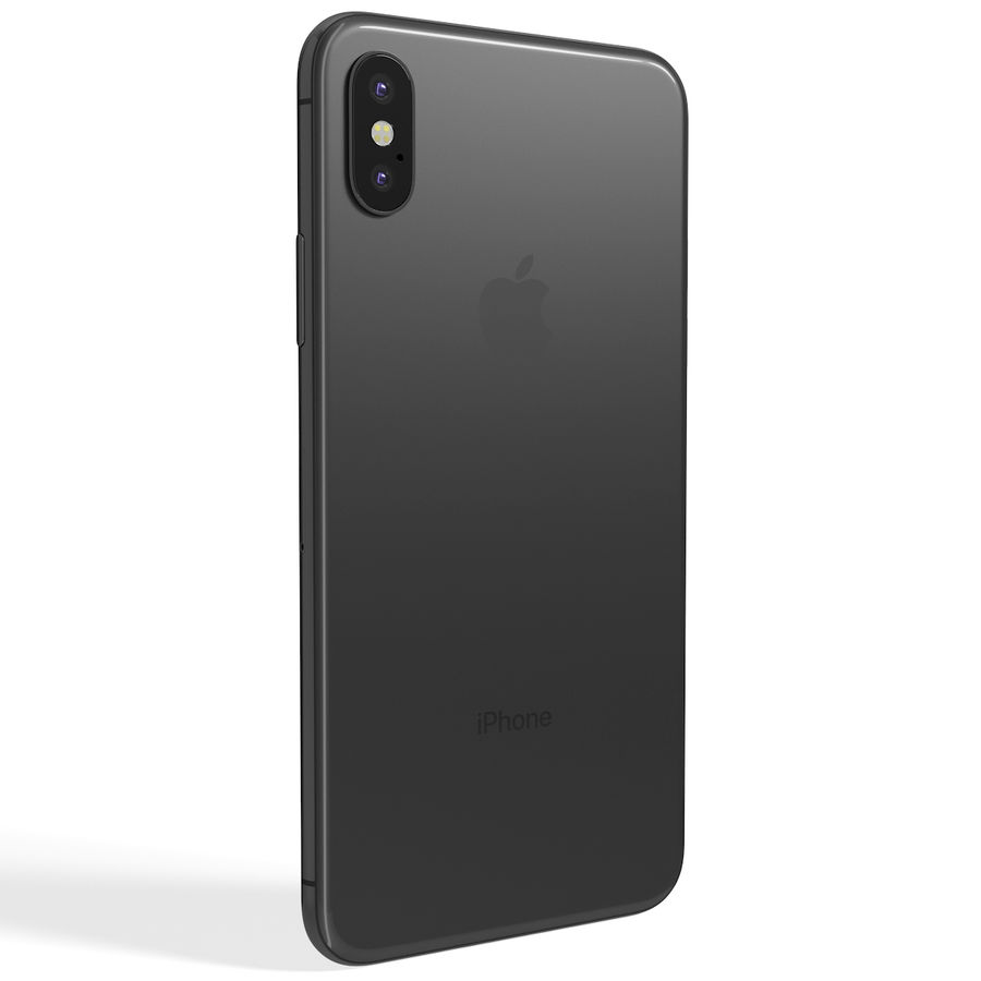 Apple iPhone 8&iPhone Xコレクション royalty-free 3d model - Preview no. 63