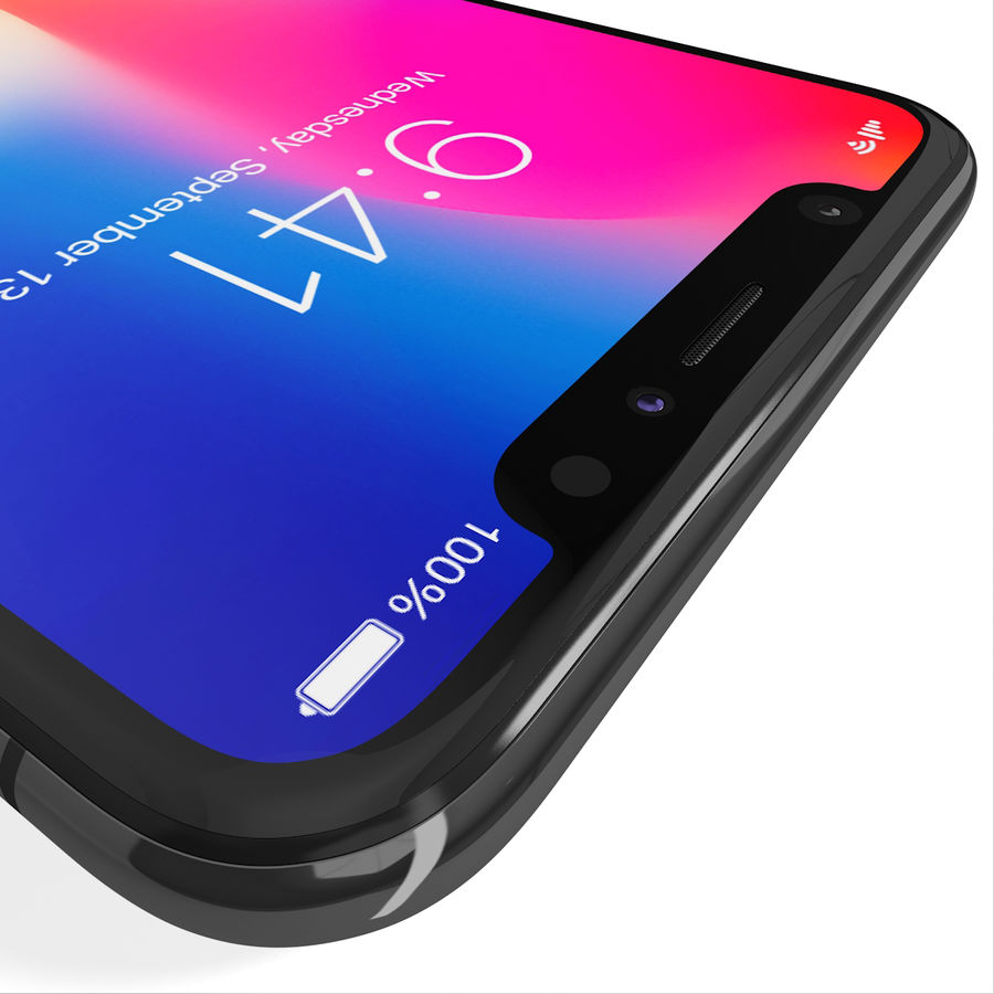 Apple iPhone 8&iPhone Xコレクション royalty-free 3d model - Preview no. 74