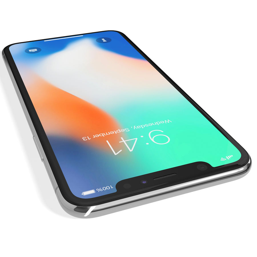 Apple iPhone 8&iPhone Xコレクション royalty-free 3d model - Preview no. 90