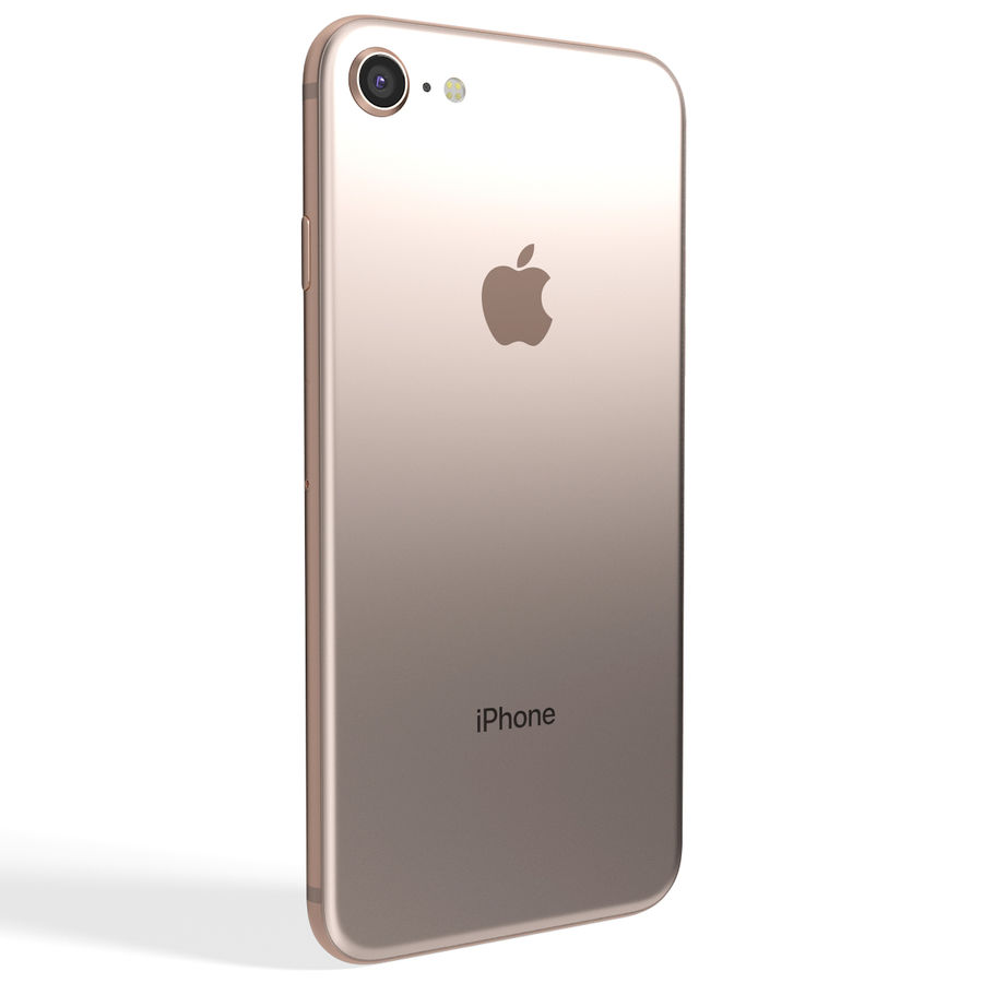 Apple iPhone 8&iPhone Xコレクション royalty-free 3d model - Preview no. 21