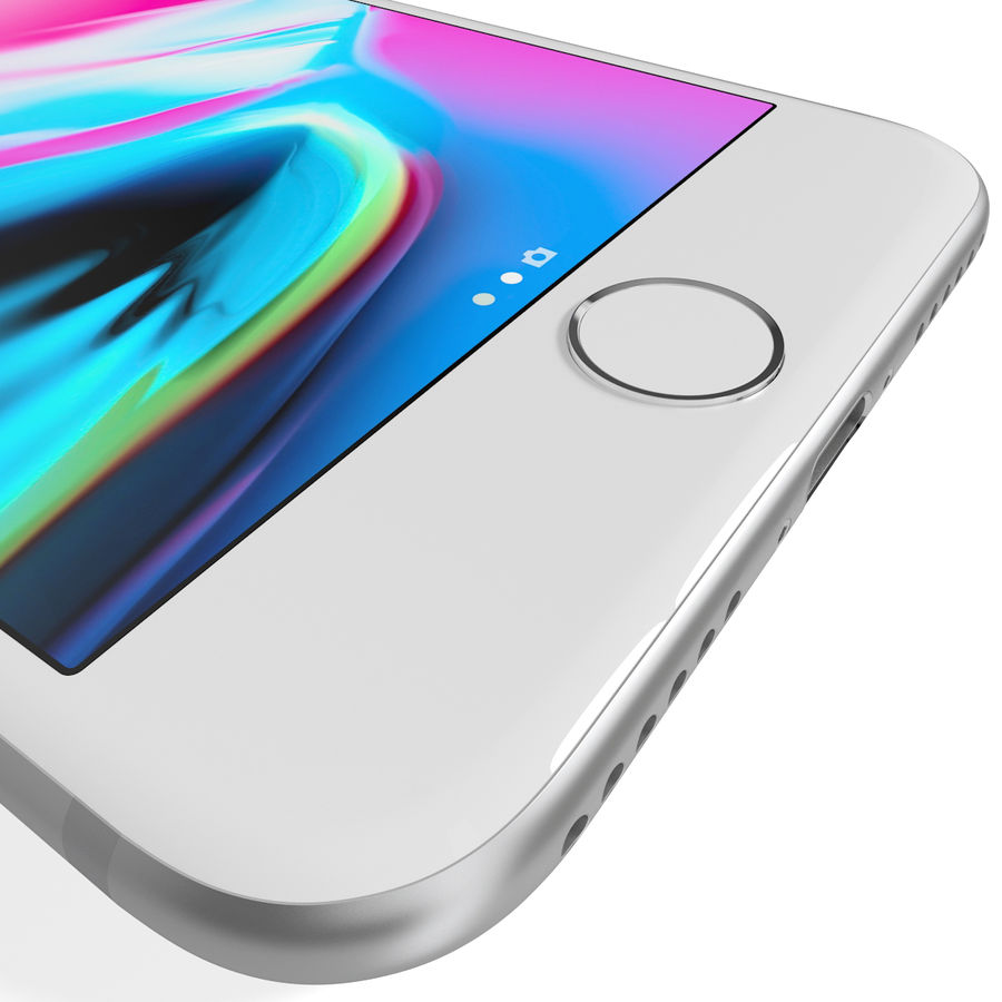 Apple iPhone 8&iPhone Xコレクション royalty-free 3d model - Preview no. 49
